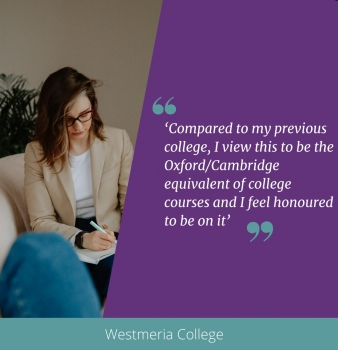 Westmeria College- Training Passionate Counsellors